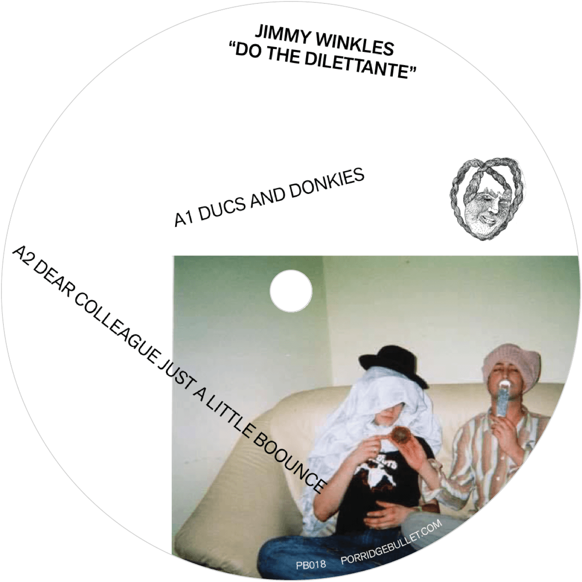 "Jimmy Winkles ""Do The Dilettante"" — PB018"
